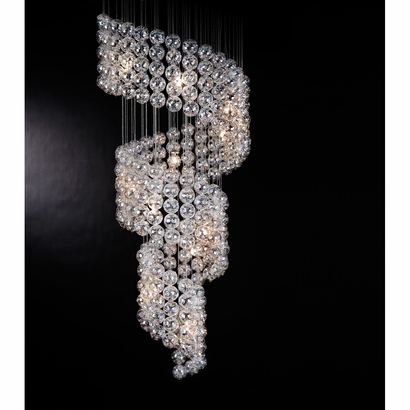 Cascade Large Chandelier, 4,500.00