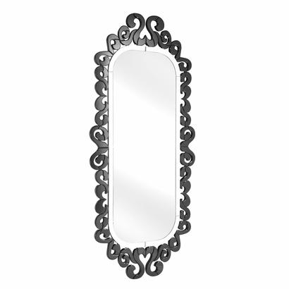 Shiva Mirror, $810.00 Available in Clear or Black