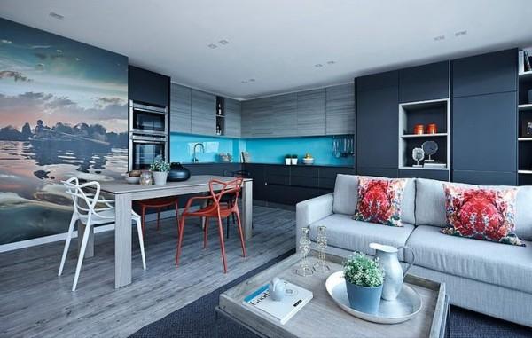 Get the Look : Chic Studio Apartment