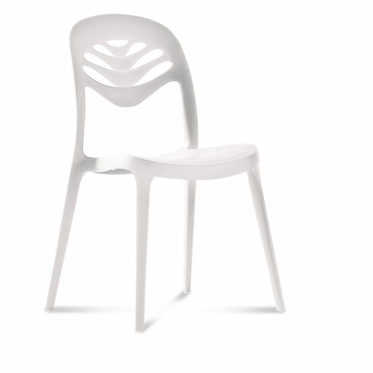 3. Domitalia Stackable Dining Chair