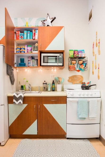 Temporary Ways to Transform a Rental Kitchen