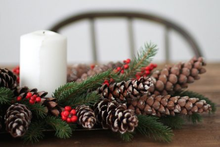Add Holiday Cheer With These DIY Pinecone Decorations