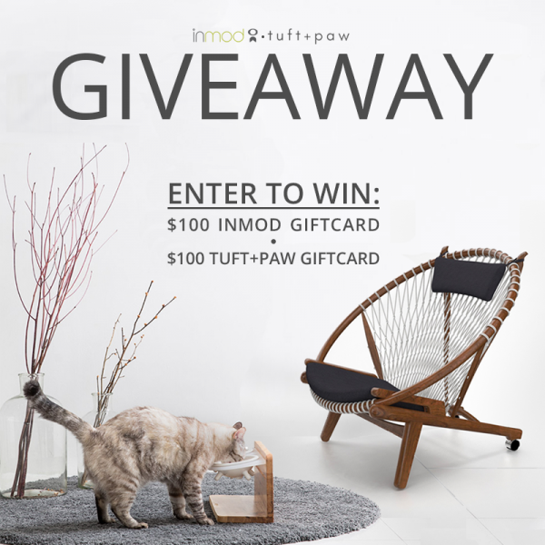 GIVEAWAY: Enter Our Purrfect Giveaway With Tuft and Paw