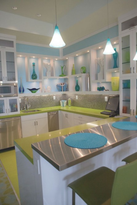 Modern Room of the Week: Colorful Kitchen