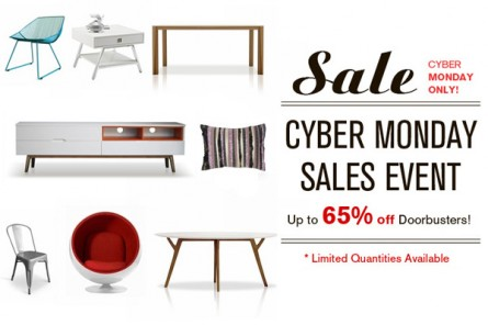 CYBER MONDAY at Inmod – up to 65% OFF TODAY ONLY!