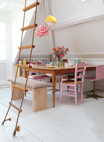 Rope Ladder Dining