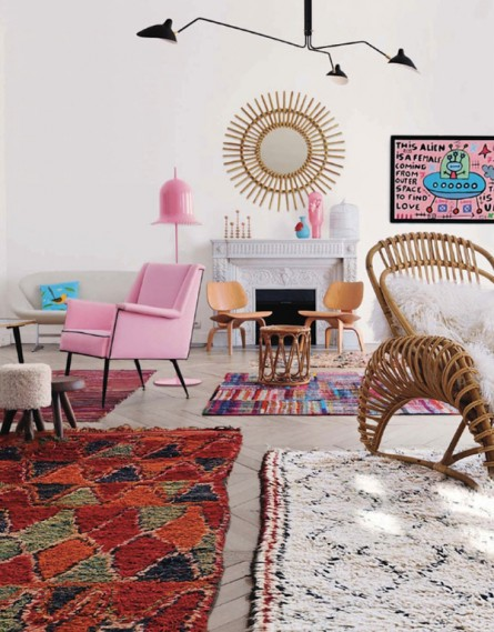 Stylish Living with Area Rugs