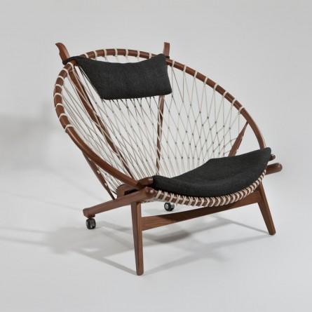 Hans Wegner Style Hoop Chair