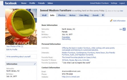 Inmod Joined Facebook!