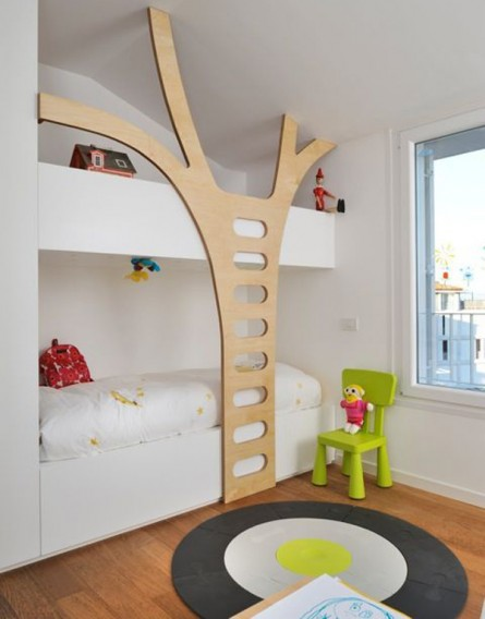 A Bedroom/Playroom Retreat for the Kids