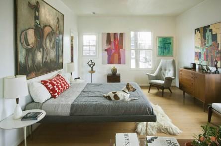 Mid-Century Bedroom Retreat