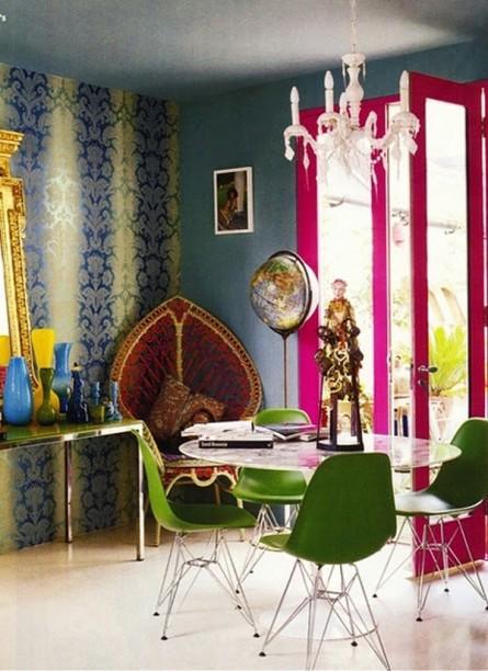 Colorful Palatial-like Dining