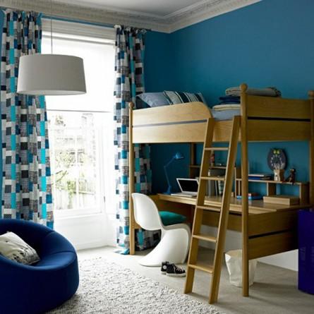 Classy, Retro Kid's Bedroom