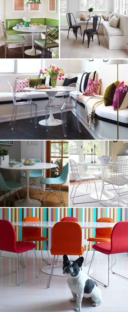 Many Looks: Saarinen Dining Table