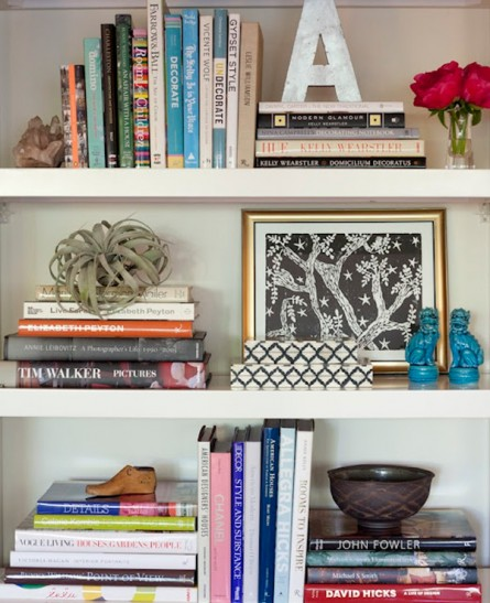 Design Tips: Shelf Styling