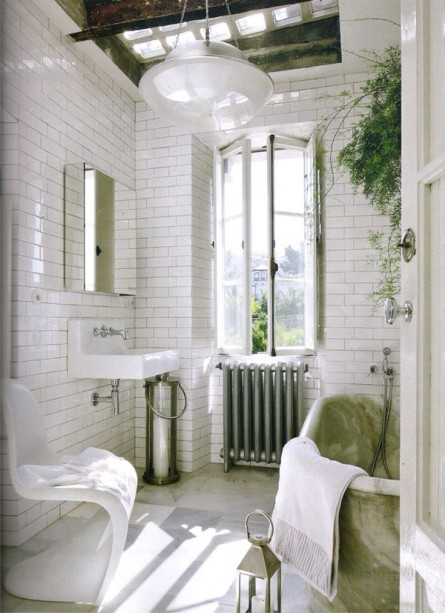 The Perfect Bathroom Accent Chair !