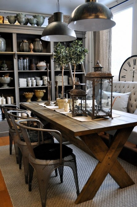 Farmhouse Dining (Get The Look!)