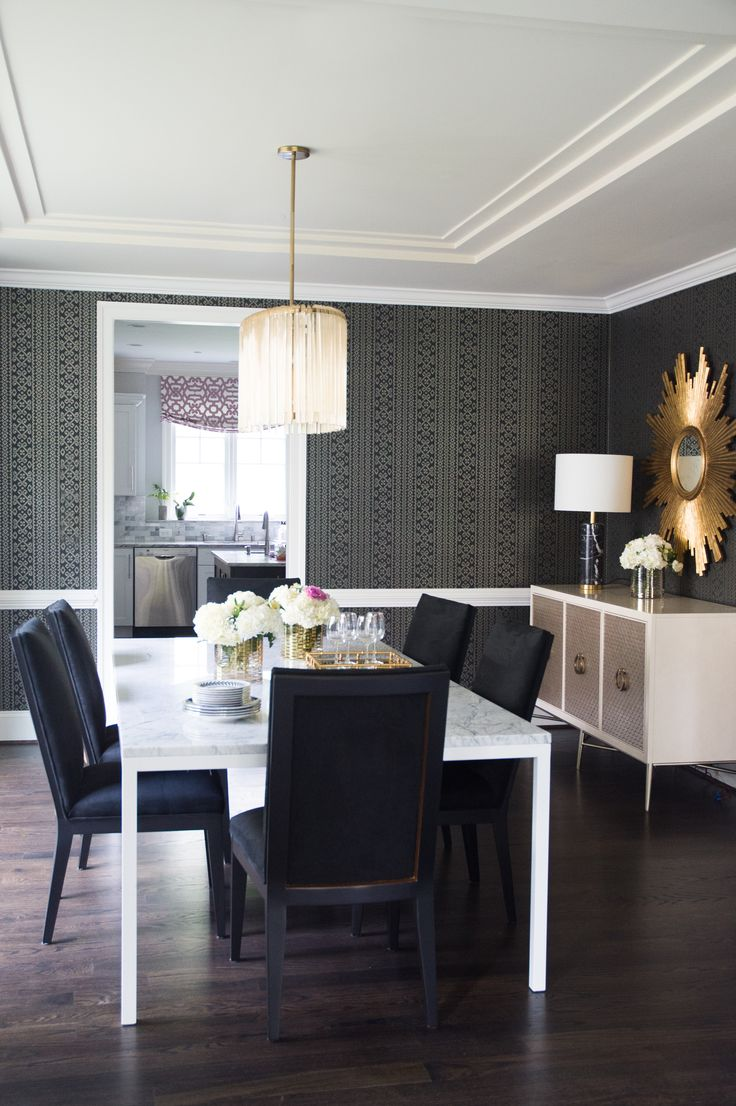 Get this contemporary dining look