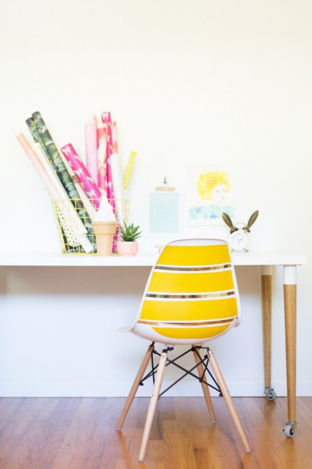 Chair DIY By Chelsea of Lovely Indeed !