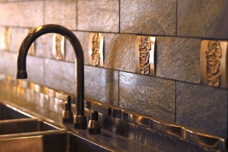 Cover Up Unattractive Tile Backsplashes With These DIY Tricks