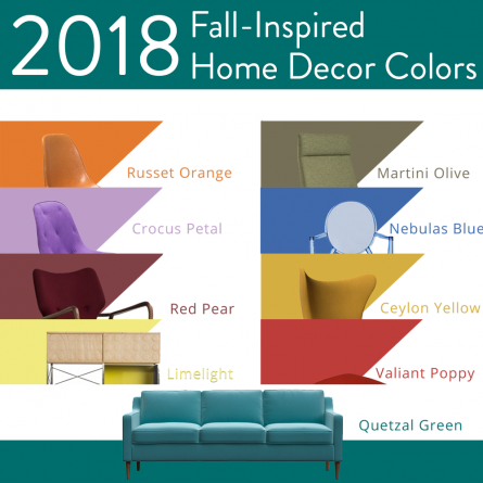 9 Fall Colors to Incorporate in Your Home Decor